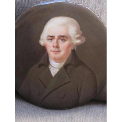 Miniature Sur émail époque XVIII éme Siècle De Nicolas Soret