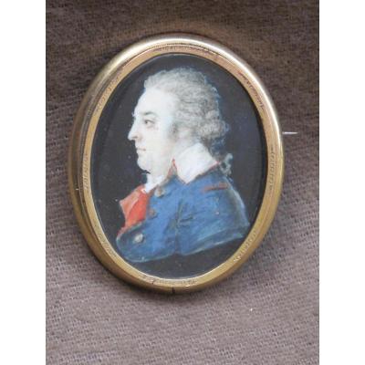 Miniature  Probablement Un Conventionnel Révolution Française