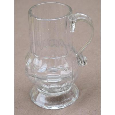 Pitcher Canted Glass Time XVIII Century