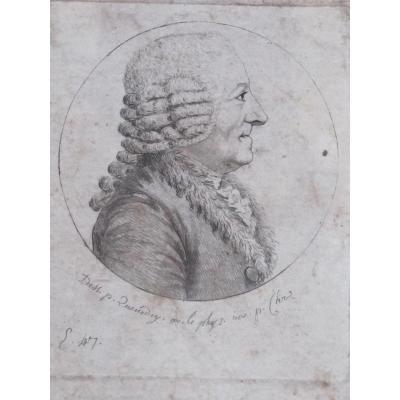 Physionotrace Par Quenedey Geoffroy Etienne Louis 1725 1810 Pharmacien Entomologiste