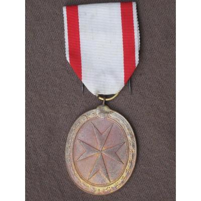 Décoration Médaille De l'Ordre De Malte Mérite Civil