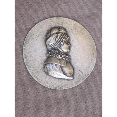 Medallion Representative Jeanne-louise-henriette Campan, Née Henriette Genet