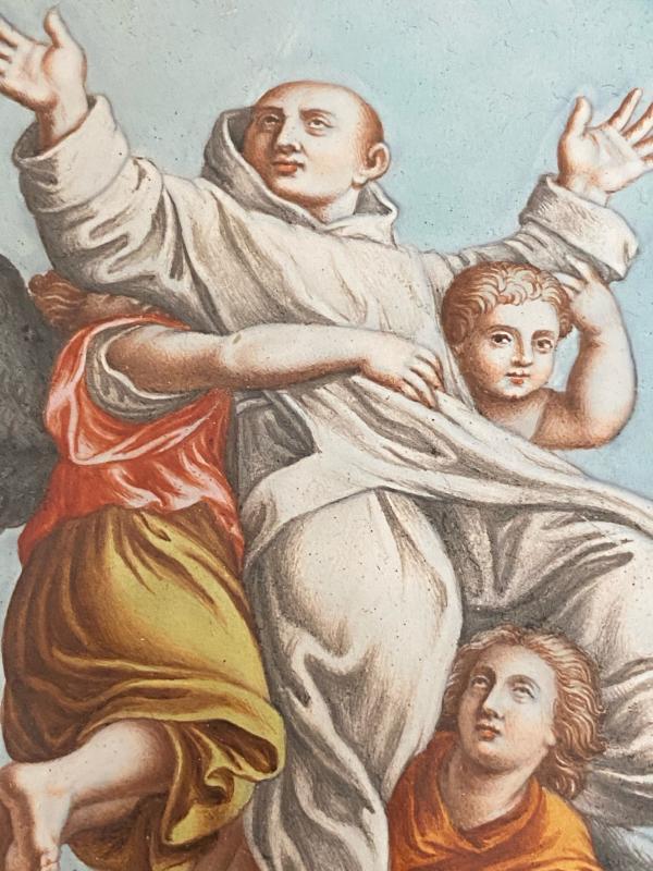 émail De Limoges Par Nicolas Laudin Saint Bruno époque XVII Eme Siècle-photo-2