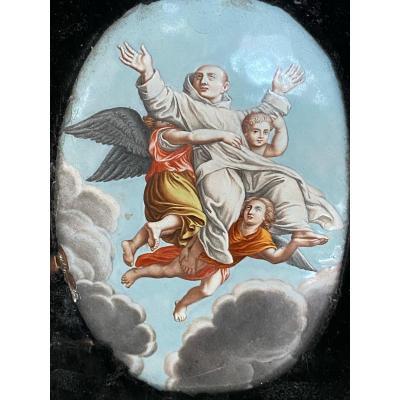 émail De Limoges Par Nicolas Laudin Saint Bruno époque XVII Eme Siècle