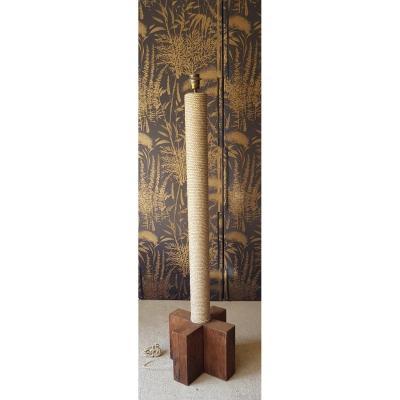 Vintage Rope Floor Lamp