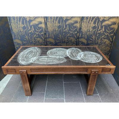Table Basse  J D 'asti  Vallauris
