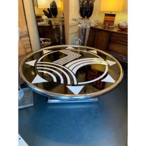 Table Basse marbre Art Déco