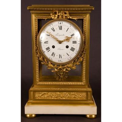 Pendule Cage Style Louis XVI Lepaute Paris