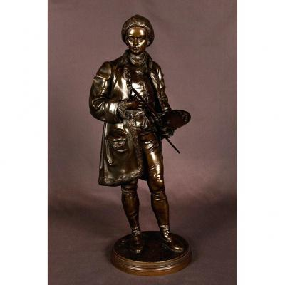 Bronze Sculpture Signed Salmson