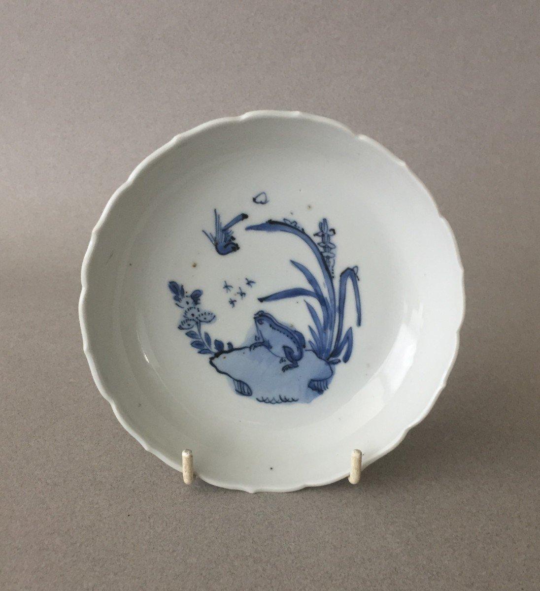 Chine: Coupelle en Porcelaine 17ème-photo-2
