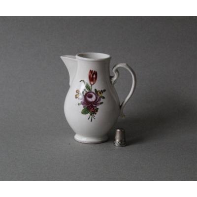 Limbach: Milk Jar In German Porcelain 18th Century