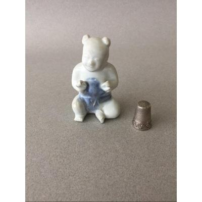 Chine - Ca Mau Cargo: Figurine jeune garçon assis 18ème siècle