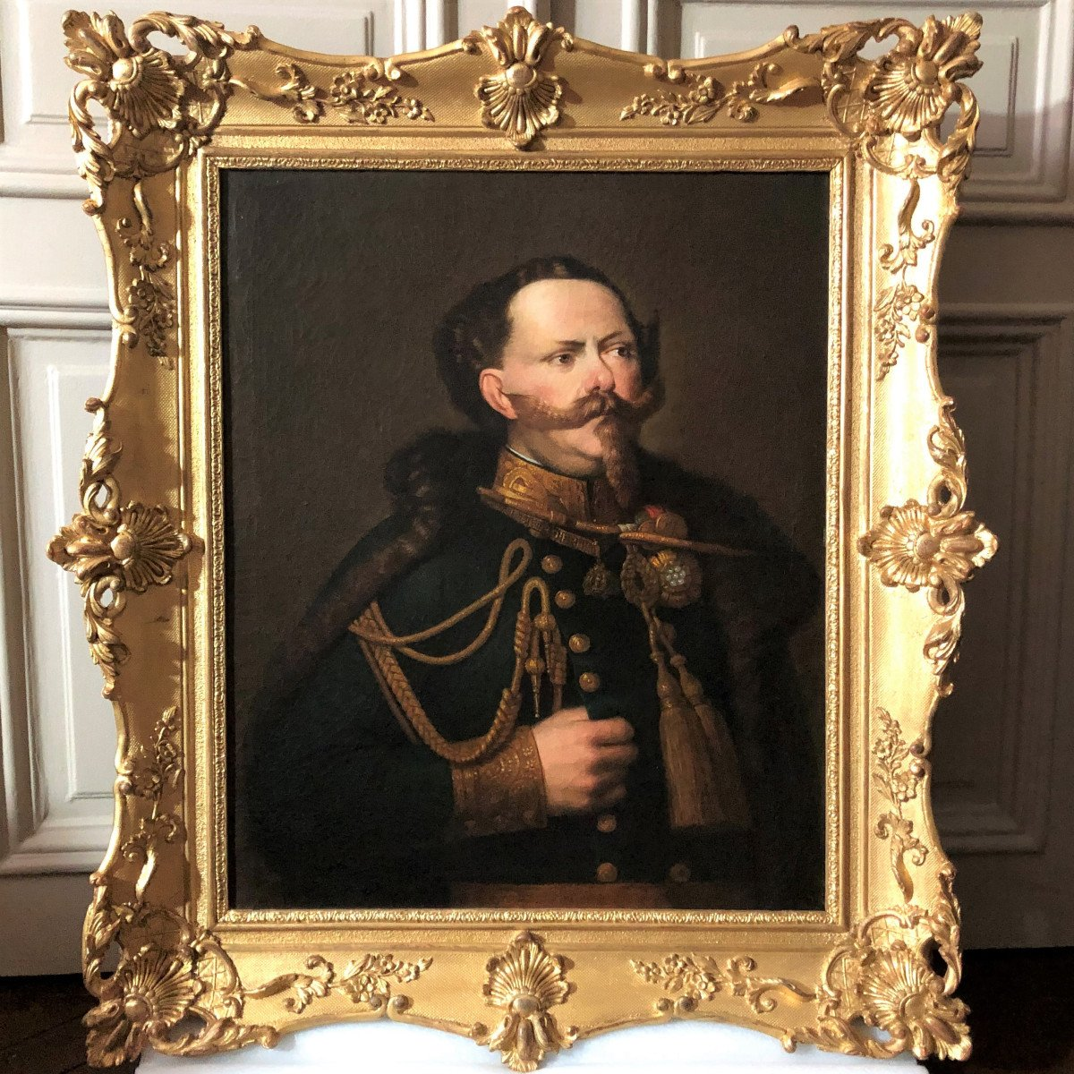 Portrait de Victor-Emmanuel II, 1er Roi d'Italie (1861-1878)