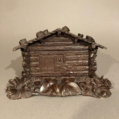 Jewelry Box, Black Forest Or Brienzer - Wood - Late 19th Century