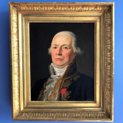 Portrait de GRIVEAU député de l'Empire par  Jean-Charles TARDIEU-COCHIN, vers 1815