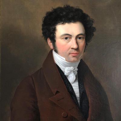 Beautiful Portrait Of A Man In A Frock Coat, Empire Period - Restoration
