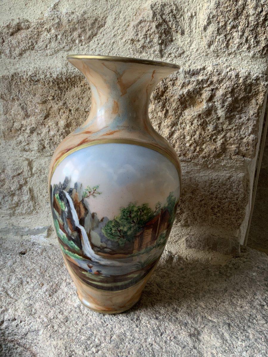 Grand Vase En Opaline.  Napoléon III