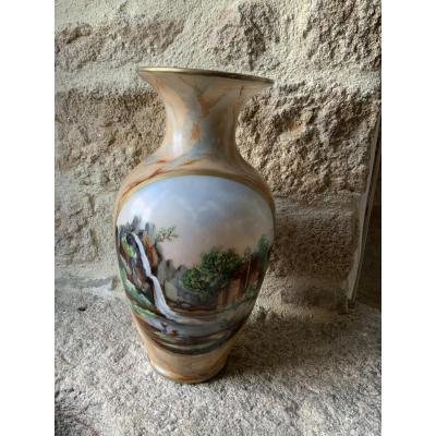 Large Vase In Opaline. Napoleon III