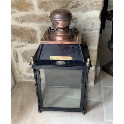 Large Railroad Lantern. Nineteenth
