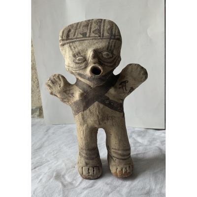 Terracotta Statuette, North Lima 12th Century