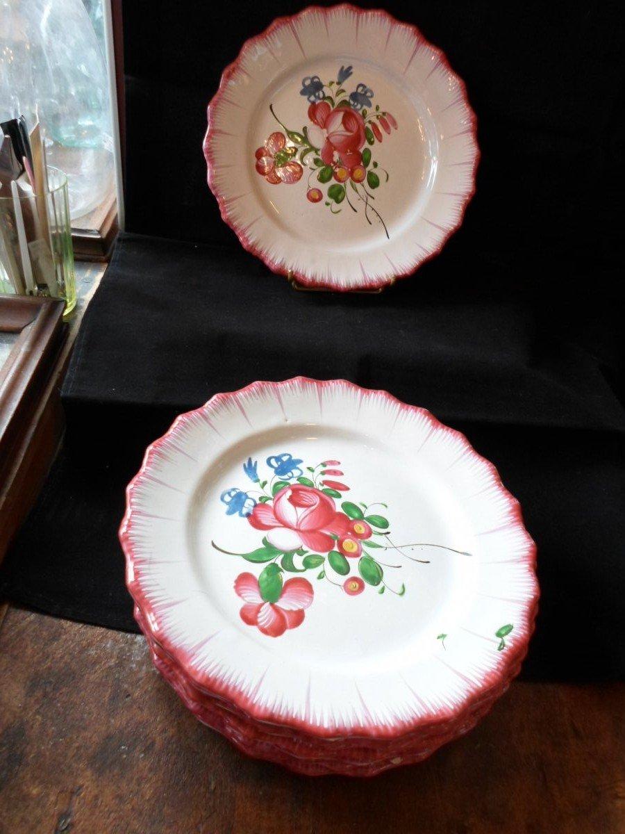 9 Plates Islettes XVIII