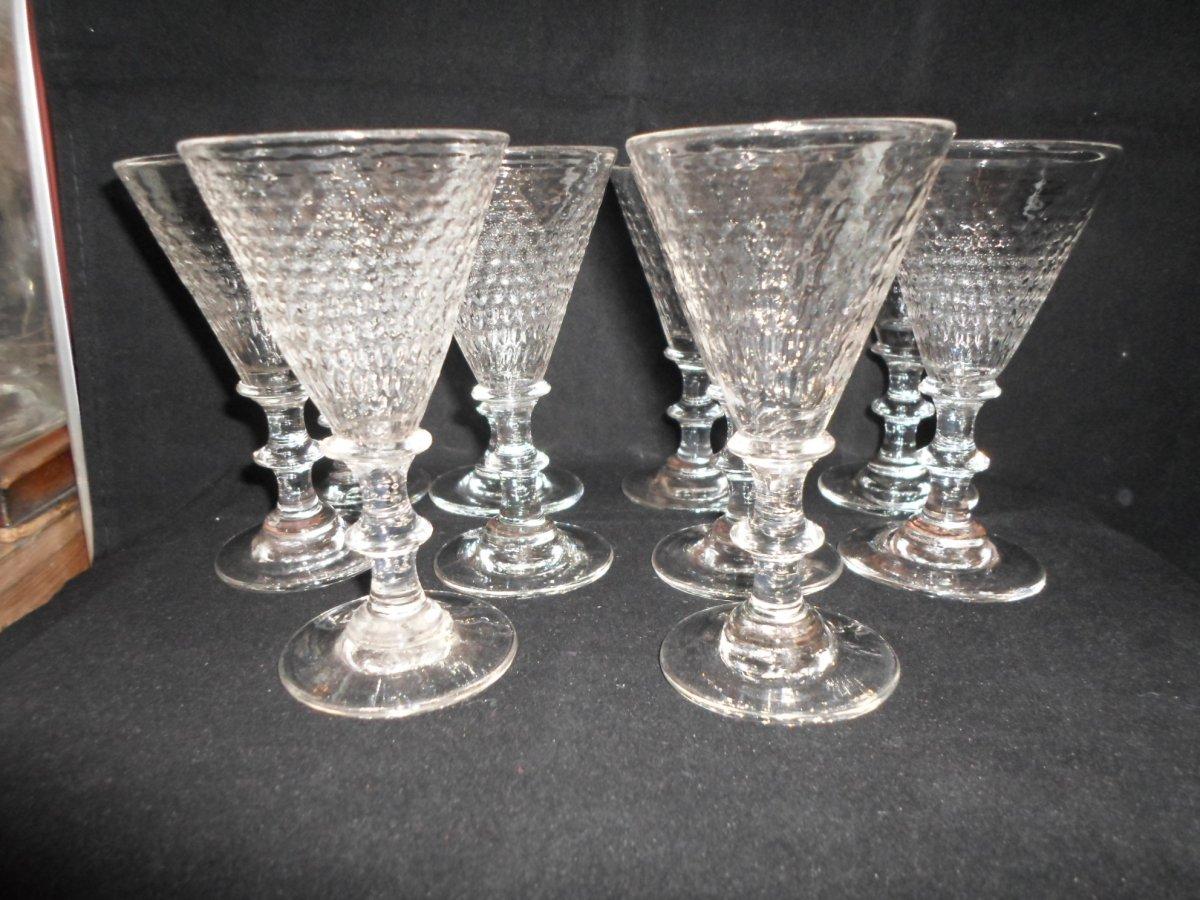 10 Crystal Glasses Nineteenth