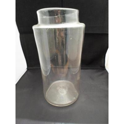 Translucent Glass Jar End XVIII