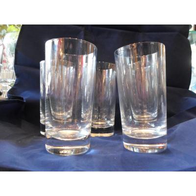 "5 Glasses ""shot"" Baccarat Twentieth"