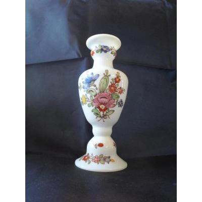 vase verre opalin XVIIIème