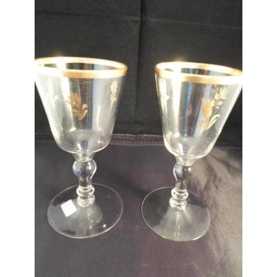 Pair Of Glasses Eighteenth Golden Border