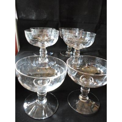 6 Cups Ice / Fruits Crystal XIX