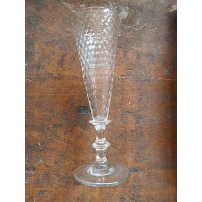 "Following 10 Flutes ""grain Of Rice"" Crystal Nineteenth"