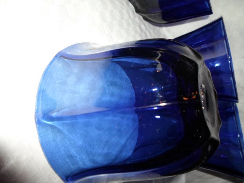 Série De 4 Coupes Colbalt XIXème-photo-2