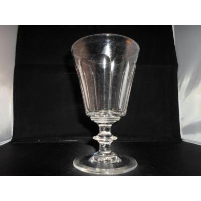 6 Water Glasses Cristal Nineteenth
