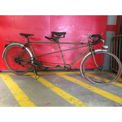 Vélo Tandem De 1936  «Bernard»