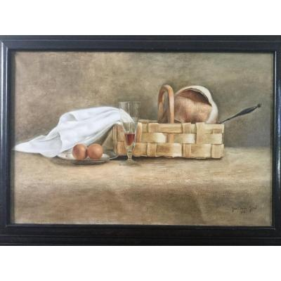 Great 20th Century Still Life By Jean Claude Janet