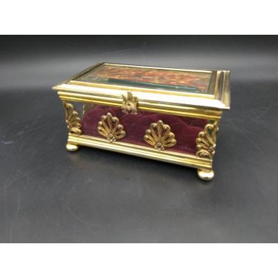 Pampaloni Bronze And Brass Box