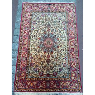 Isfahan Wool And Silk Rug
