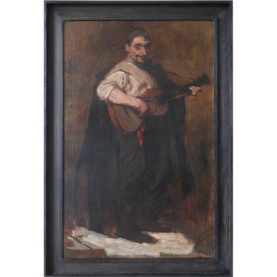 Jean Laudy (1877-1956), Le Guitariste Espagnol