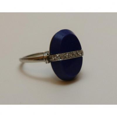 Lapiz Lazuli Ring, C.1925