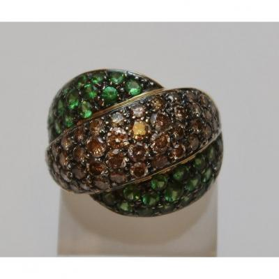 Cocktail ring cross over