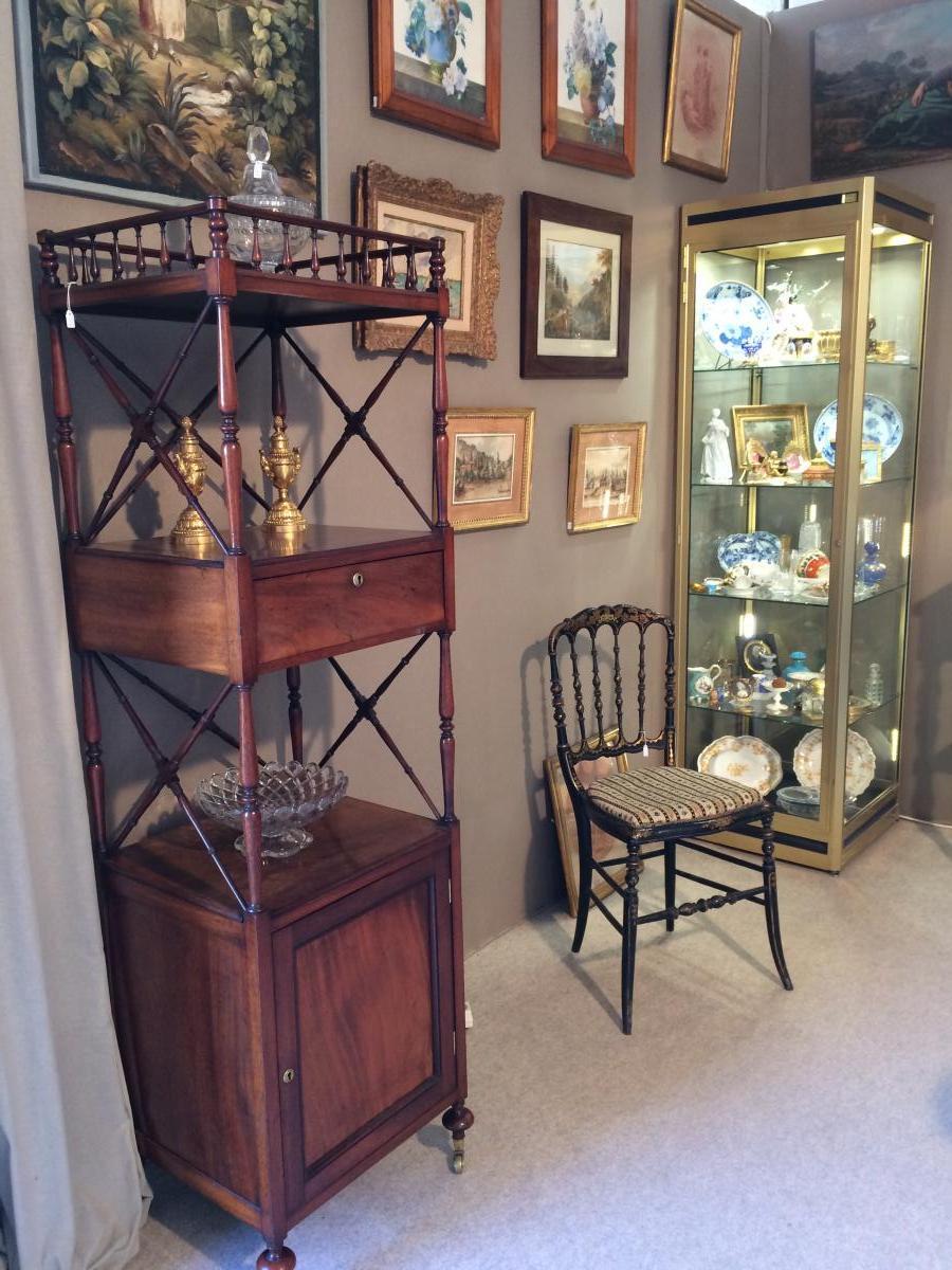 Mahogany High Cabinet-photo-2