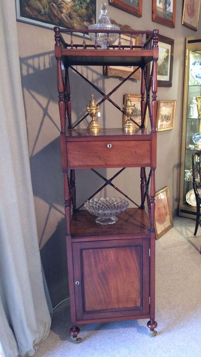 Mahogany High Cabinet-photo-3