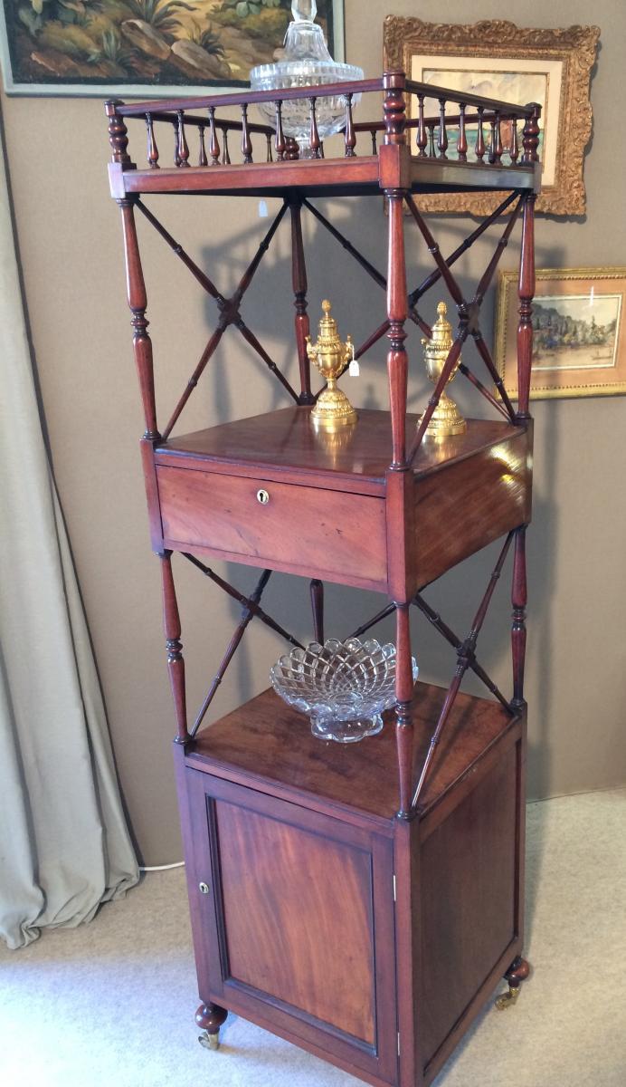 Mahogany High Cabinet-photo-4