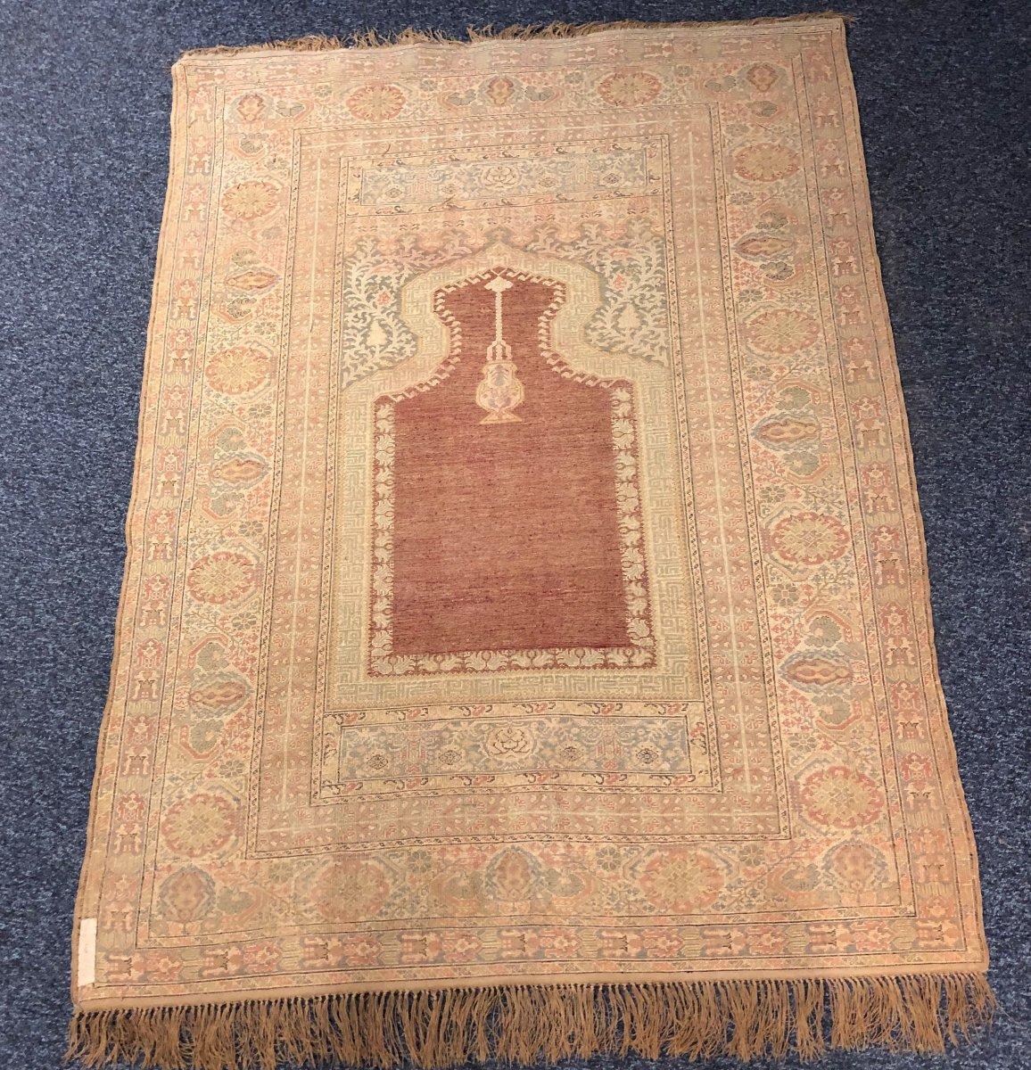 Tapis de prière Kayseri vers 1900-photo-6