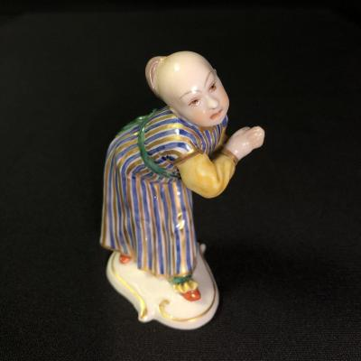 Chinese Figure In Numphembourg Porcelain