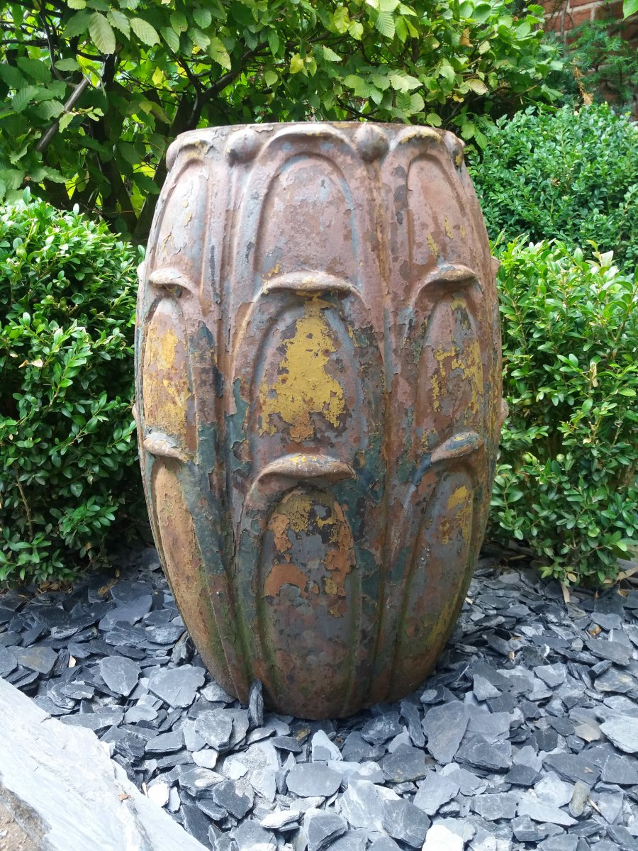 Vase En Fonte De Fer...