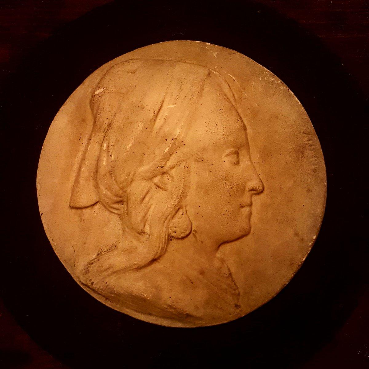 2 Médailles Signées  David d'Angers