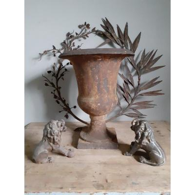 Vase De Jardin En Fonte .....xviiiièm