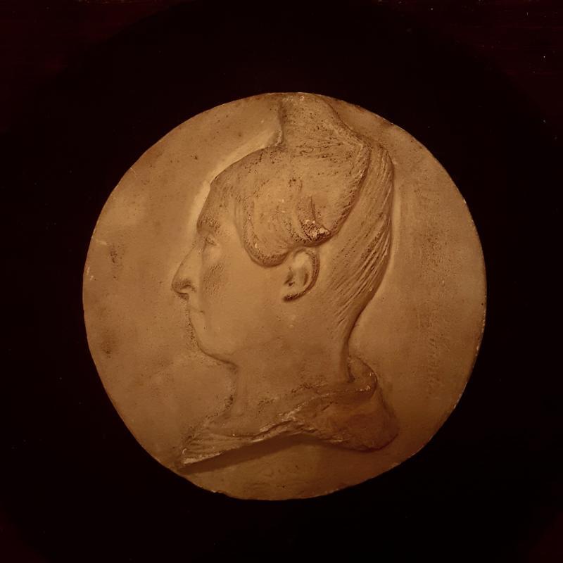 2 Médailles Signées  David d'Angers-photo-2
